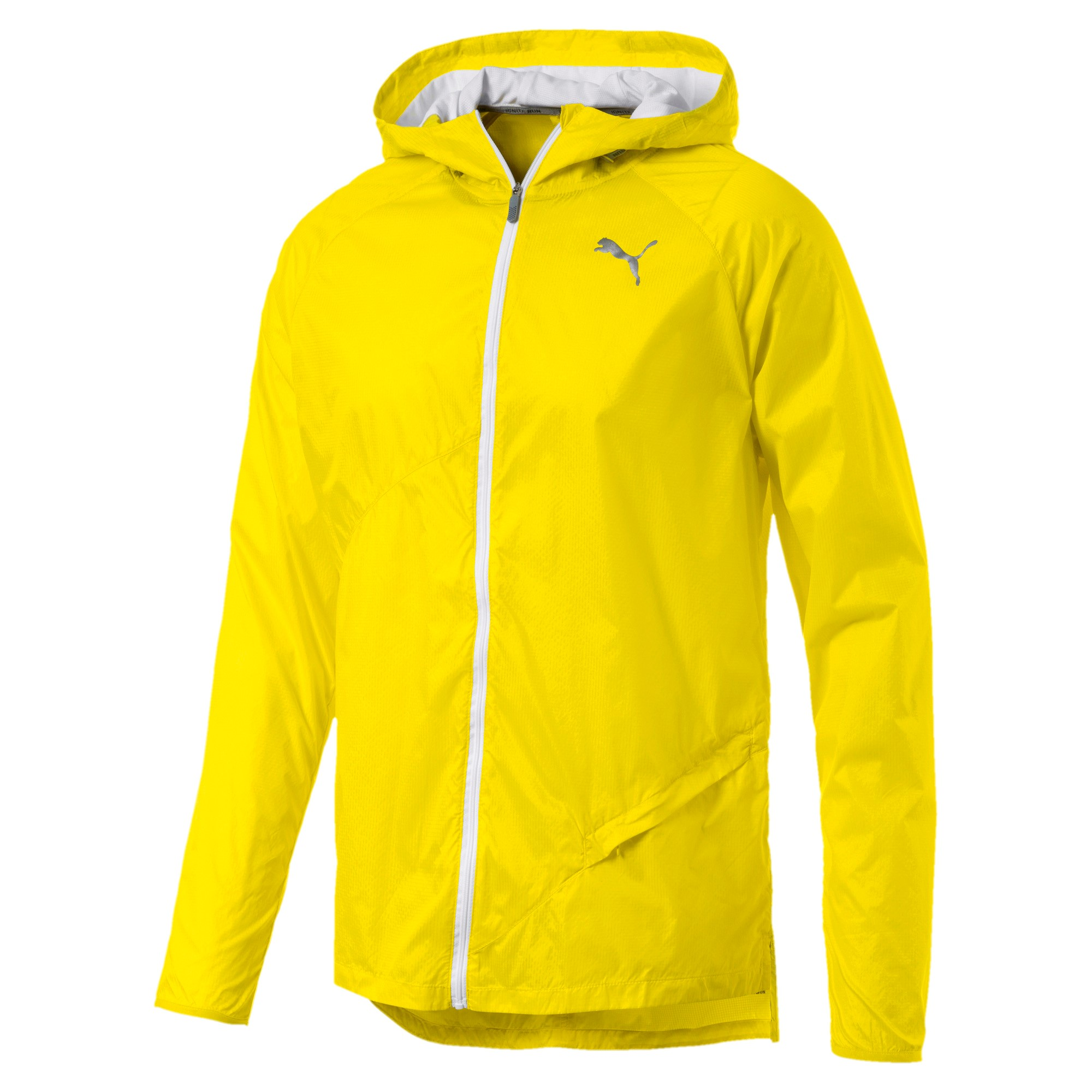 Lightweight Hooded Jacket Blazing Yellow
